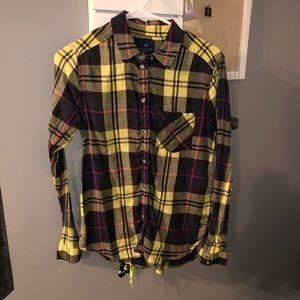 American Eagle Boyfriend Shirt/Plaid (size S/P)